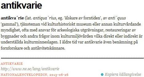 NE-antikvarie