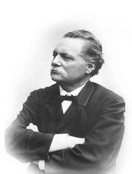 Artur Hazelius, Skansens och Nordiska museets grundare. Bilden hämtad från http://www.skansen.se/sv/artikel/hazelii-vanner-huvudsponsorer.