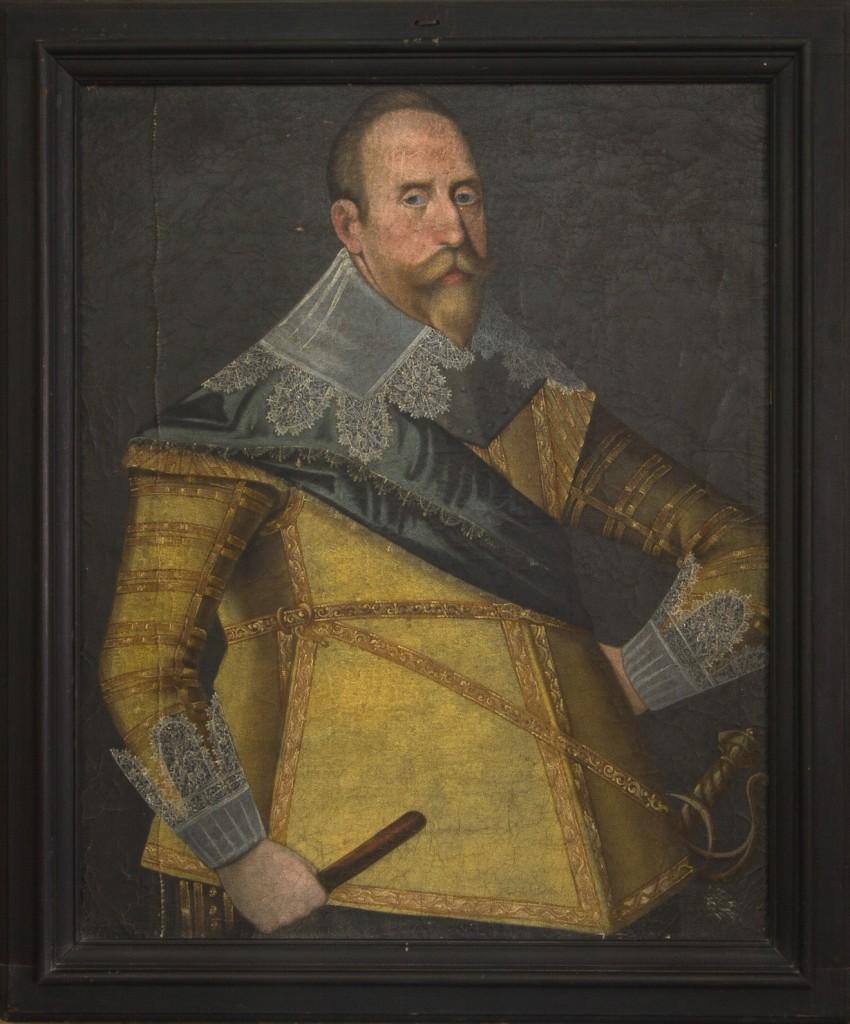 Porträtt av Gustav II Adolf, Foto: Tomas Wiedersheim-Paul