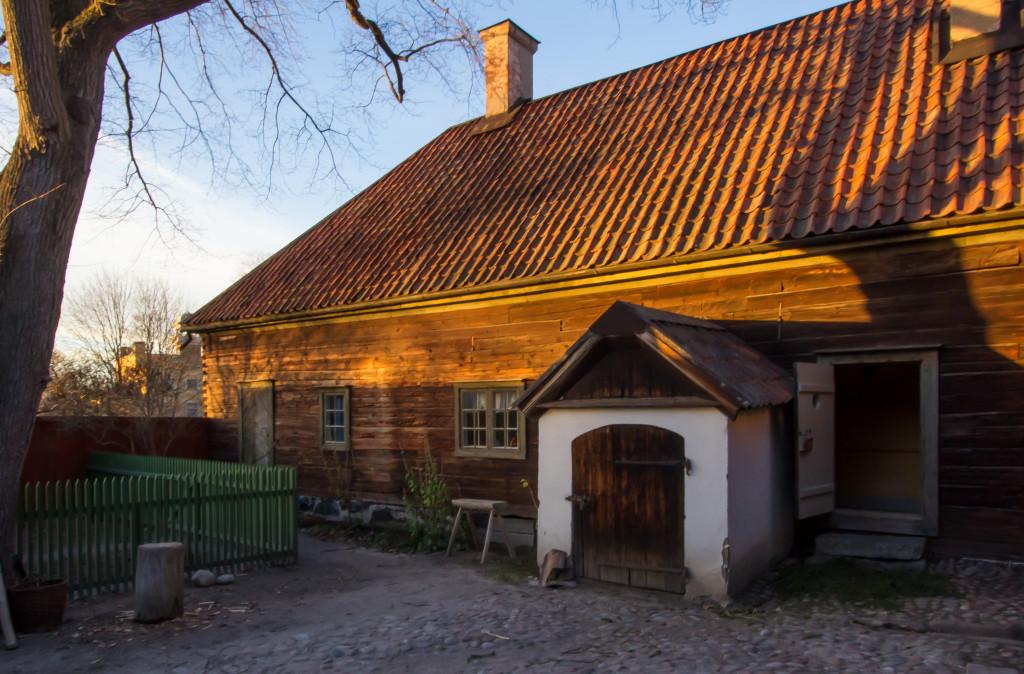 Boktryckargården från 1840-talet. Foto: Tomas Wiedersheim-Paul