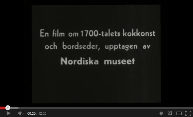 Se en kulturhistorisk film som Nordiska museet spelade in 1939 som visar hur en salsskänk skulle kunna användas under 1700-talet.