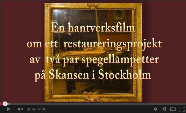 Filmbild Förgyllning