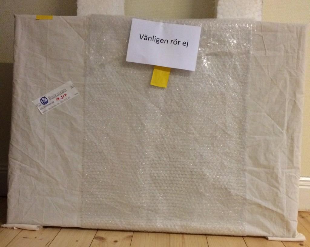Ett mystiskt paket som väntar på att öppnas.