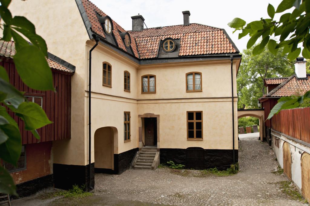 Tottieska gården på Skansen, sett från innergården. Foto: Marie Andersson, Skansen, 2011