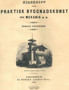 Tidskrift för Praktisk Byggnadskonst