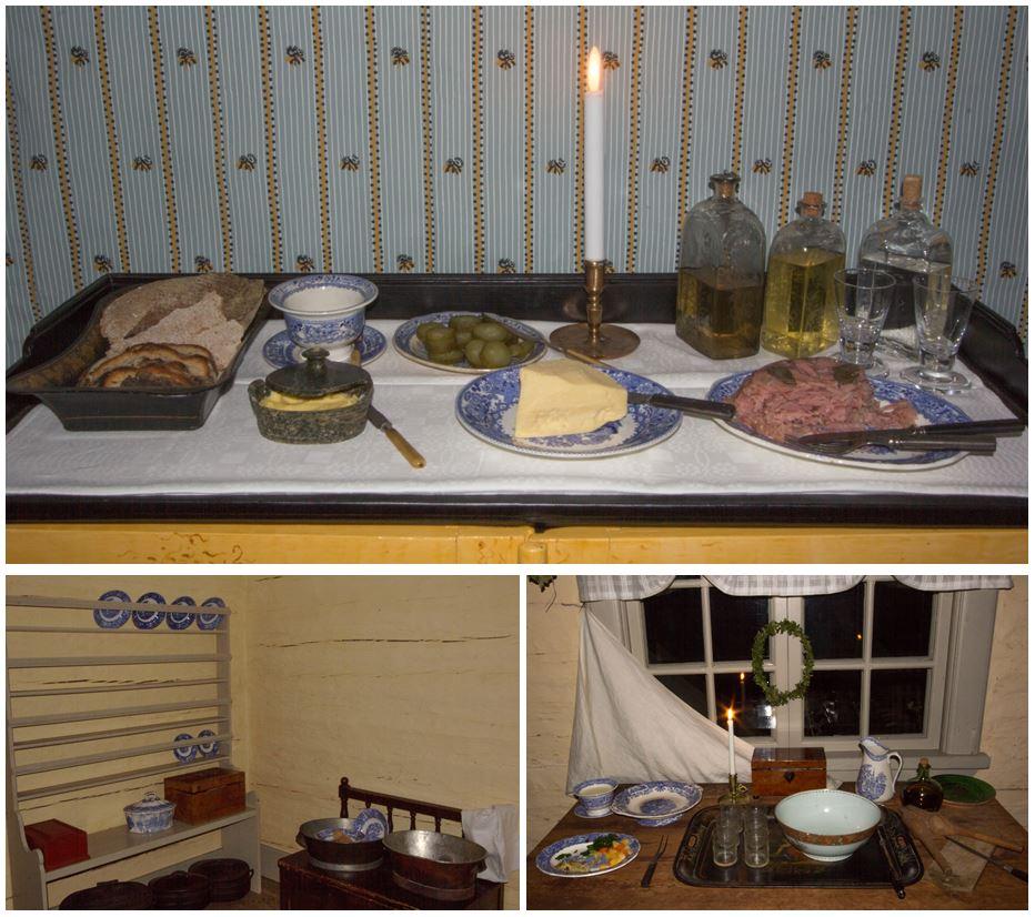 Ytterligare några av mina dokumentationsbilder.  Dessa är från Kammaren och Köket. Foto: Sandra Åberg